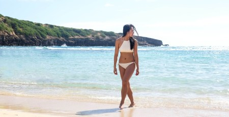 Halter Swimsuit | Travelling To Hawaii | Sammy Huynn