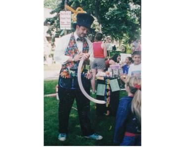 SAMMY J at the fair