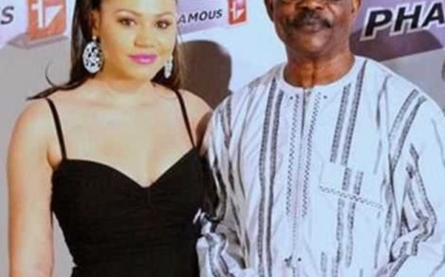 Sidiki Buari gets furious after been asked if he's the biological father of Nadia Buari