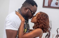 Video: DKB kisses Akuapem Poloo at  her 31st birthday party