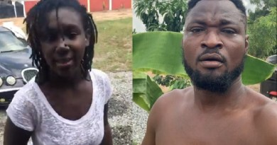 Video: I realised I found a knife not a wife, Kill me & you will live to regret – Funny face to Baby Mama