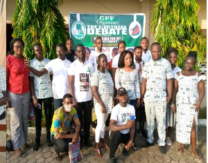 GREEN FORTLAND FOUNDATION DID NOT DO POLITICS BUT THE ELECTORATES INTEREST