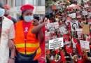 Blakk Rasta joins FixTheCountry protestors to hit the streets of Accra