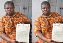 Greater Accra Regional Minister pledges 1,500 cedis monthly support to actor, Psalm Adjeteyfio