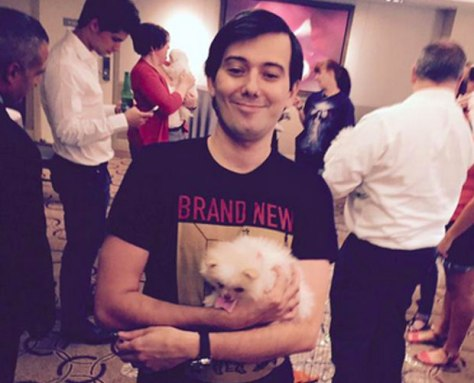 I don't know what's in Martin Shkreli's heart but I do know that he's a human being and that hatred is never productive.