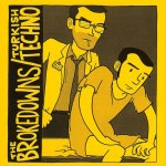 The Brokedowns / Turkish Techno -split 7-inch. Traffic Street Records, 2009. Art by Mitch Clem.