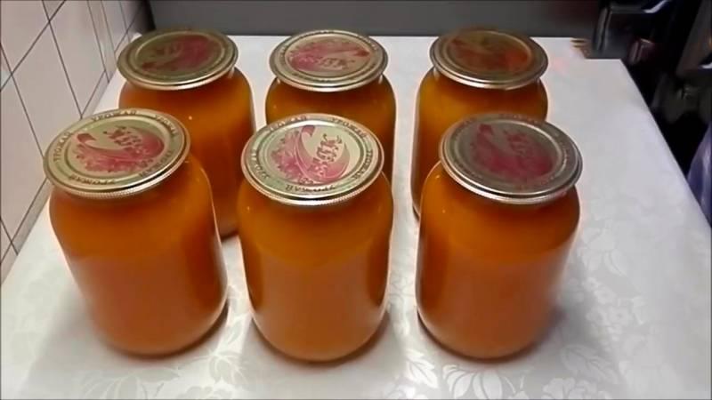 тыквенный сок с апельсинами