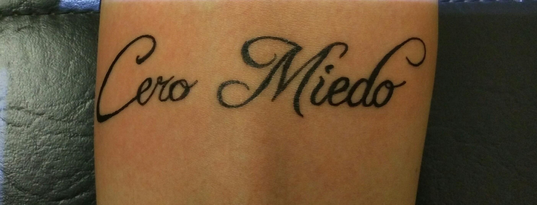 tattoo lettrage