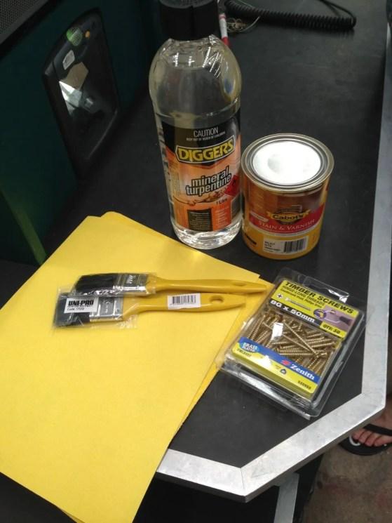 Materials needed1