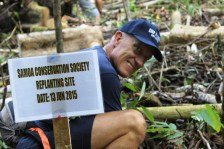 Greg plants his 10th tree!