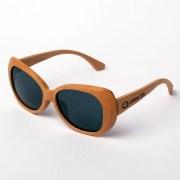 Gafas de madera Caroline Lips Grey | Samoa Sun
