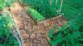 Поделки из дерева для сада и огорода своими руками - фото ...