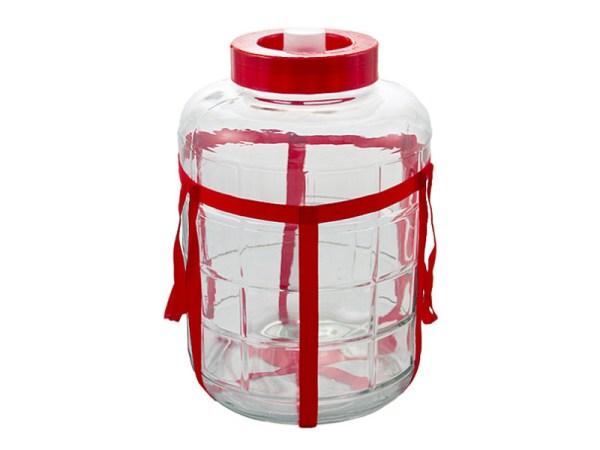 Бутыль с гидрозатвором