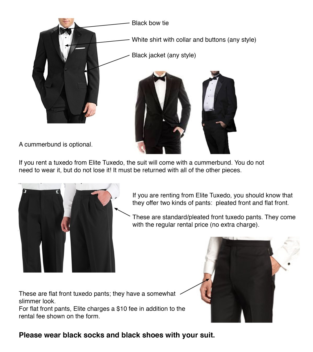 Band Formal Wear