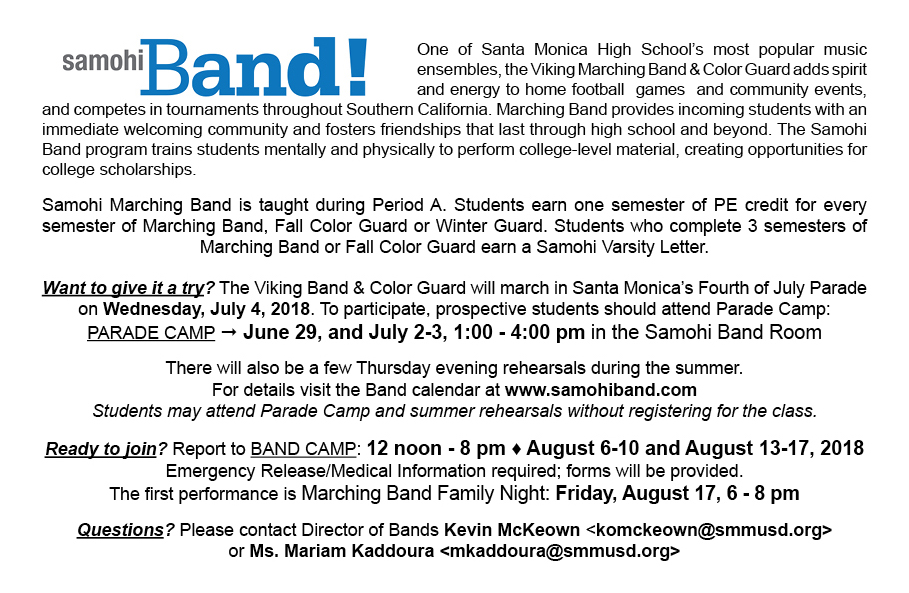Marching Postcard2018-2