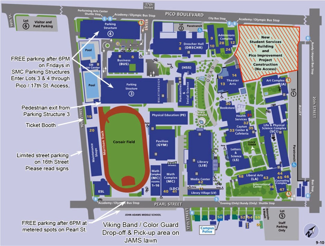 SMC Football Parking
