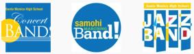 3 band logos