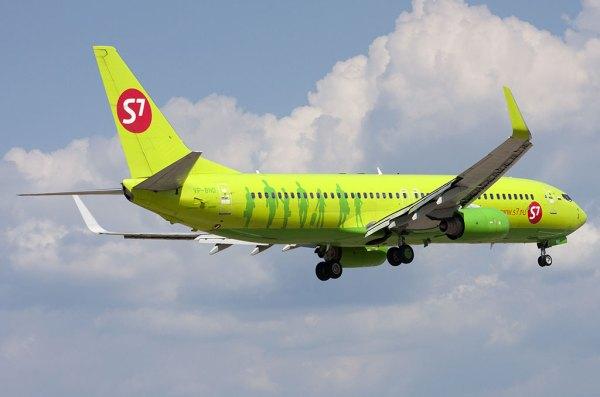 Самолет Boeing 737-800 (Боинг 737-800) — S7 Airlines ...