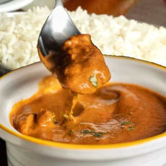 Best indian food in vancouver - butter chicken sauce