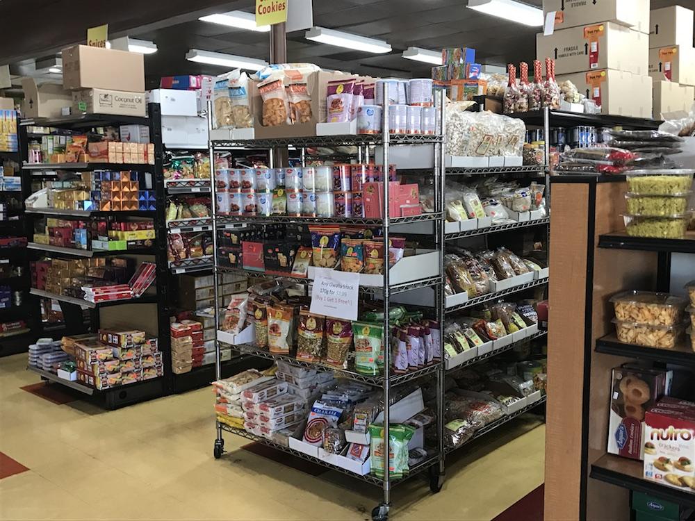 Grocery Store at Samosa House (Bharat Bazaar)
