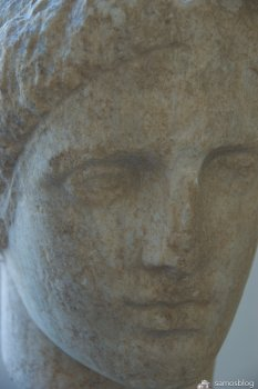 Buste from Samos museum