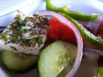 Greek salad, Tsabou