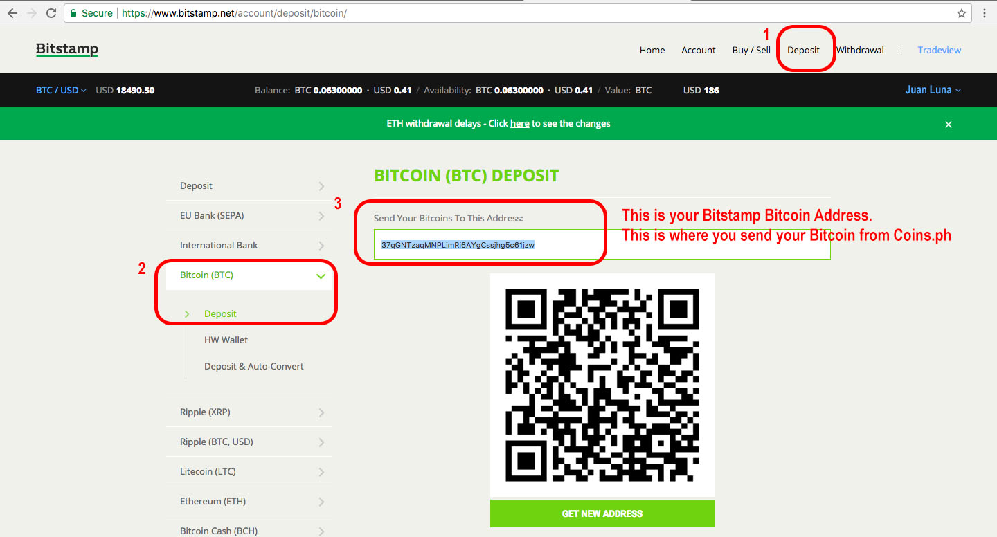 how to buy cryptocurrency with cash deposit