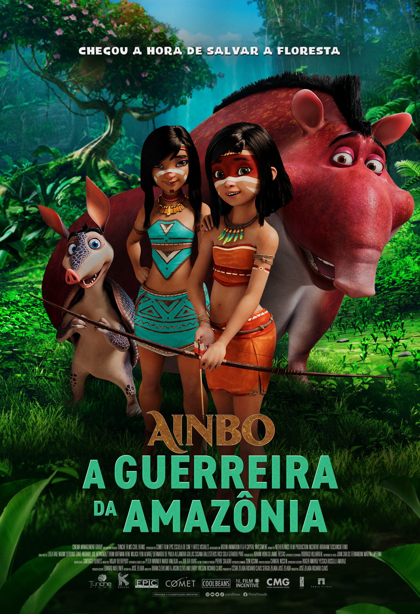 """Ainbo – A Guerreira da Amazônia"""