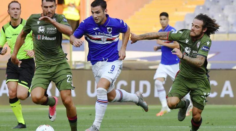 """Bonazzoli: """"A Genova sto da Dio, al contratto non ci penso. E' il momento più bello della mia vita.""""."""
