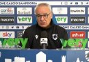 Video, Parma-Sampdoria: le parole di Ranieri.