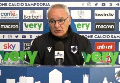"""Video – Samp-Spezia, Ranieri: """"Voglio una grande prova, è una corsa su noi stessi""""."""