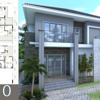 5 Bedrooms Modern Home 10x12m