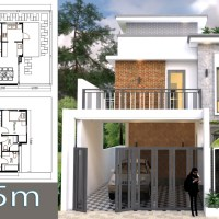 3 Bedroom House Plan Plot Size 9x15