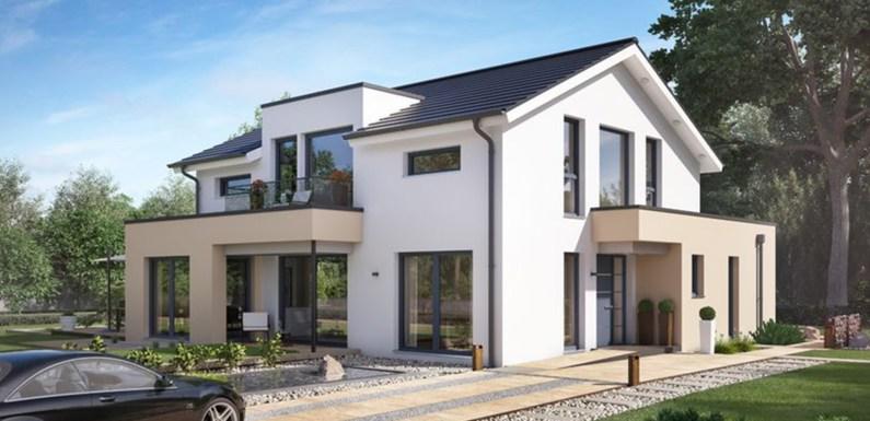 2 Story Modern House Design 9.4x10m