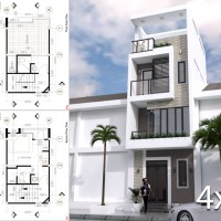 Small Modern House Designs Plan 4x6 Meter