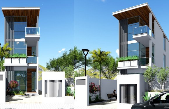 Small House Designs Front View 4.5 meter