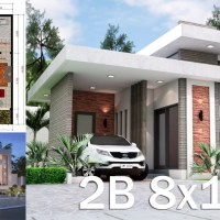 Sketchup House Modeling Idea From Photo 8x10M