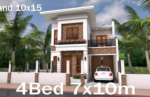 Sketchup Speed Build Home Plan 7×10