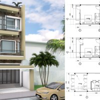 4.5x11m Narrow Home Lot Design