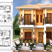 Sketchup Modeling Home Plan 7x11