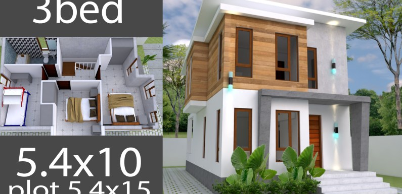 Small Home Design Plan 40040x40m With 40 Bedroom SamPhoas Plan Fascinating 3 Bedroom Home Design Plans