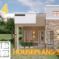 House Design plans 7x14 with 3 Bedrooms