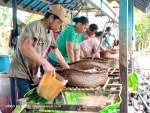 Produksi Sagu di Desa Penyaguan Minimal 5 Ton Per Bulan