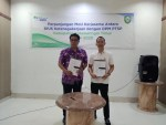 BPJS Ketenagakerjaan Teken Kerjasama Dengan DPMPTSP