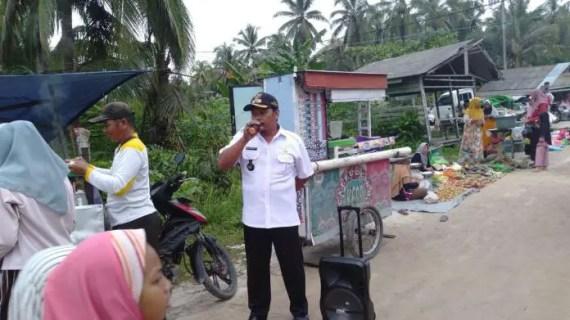 Pasar Desa Basawang Ditutup Sementara, Ini Alasan?