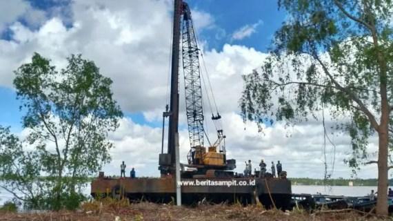 Pembangunan Dermaga Penyeberangan Bapinang Telan Dana Rp 4,2 Miliar