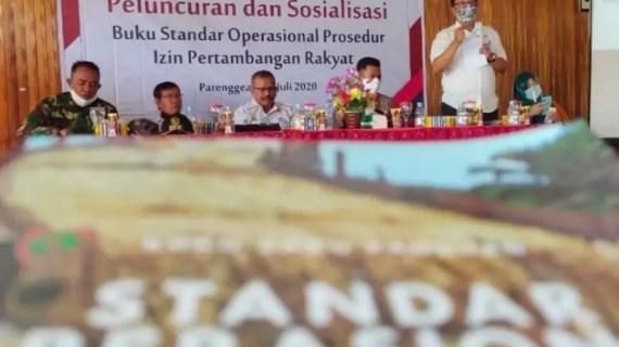 Pemkab Kotim apresiasi peluncuran buku panduan izin pertambangan rakyat