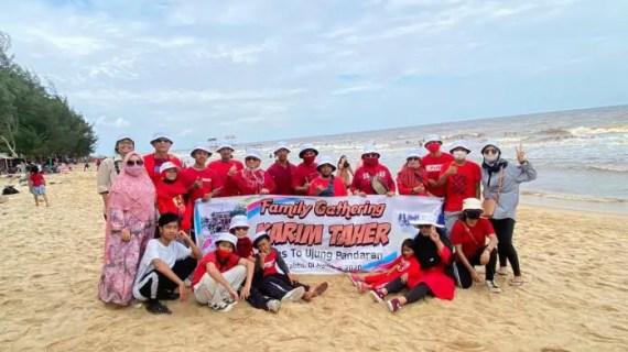 Komunitas Sepeda Keluarga Karim Taher Kunjungi Wisata Ujung Pandaran