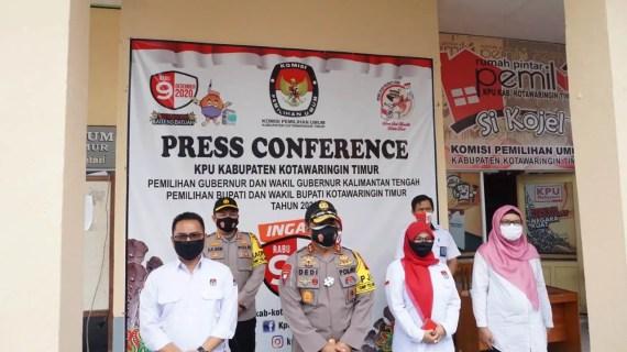 Kapolda Kalteng Kunjungi Kabupaten Kotim, Cek Kesiapan Pengamanan Pilkada