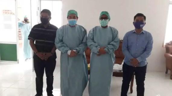 PANTAS Jalani Test Swab di RSUD Murjani, Siap Daftar ke KPU